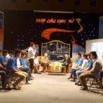 """Học sinh Trường Cao đẳng nghề dân tộc nội trú Bắc Kạn đã tham gia ghi hình chương trình """"Nhịp cầu lịch sử"""" tại Đài PT&TH tỉnh"""