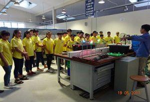 Tổ chức tham quan hướng nghiệp cho học sinh Trường THCS và Trường THPT tại Trường Cao đẳng nghề DTNT Bắc Kạn