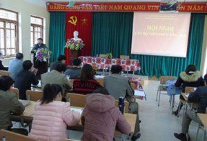 Trường Cao đẳng nghề dân tộc nội trú Bắc Kạn  tổ chức Hội Nghị viên chức năm 2018
