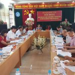 Hội nghị sơ kết  công tác thi đua khen thưởng khối Văn hóa -Xã hội