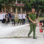 Tập huấn nghiệp vụ PCCC và CNCH cho lực lượng PCCC Trường Cao đẳng Bắc Kạn