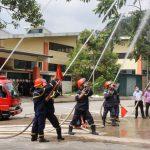 Tập huấn nghiệp vụ Phòng cháy chữa cháy cứu hộ, cứu nạn