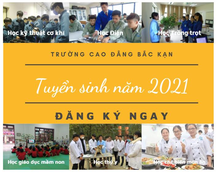THÔNG TIN TUYỂN SINH NĂM 2021